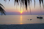 West Bay Beach Sunset - Roatan